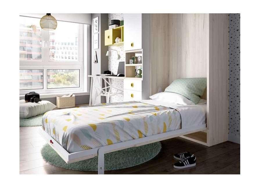 Composició juvenil amb llit abatible vertical