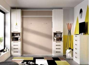 Composició amb llit abatible vertical de 135 cm