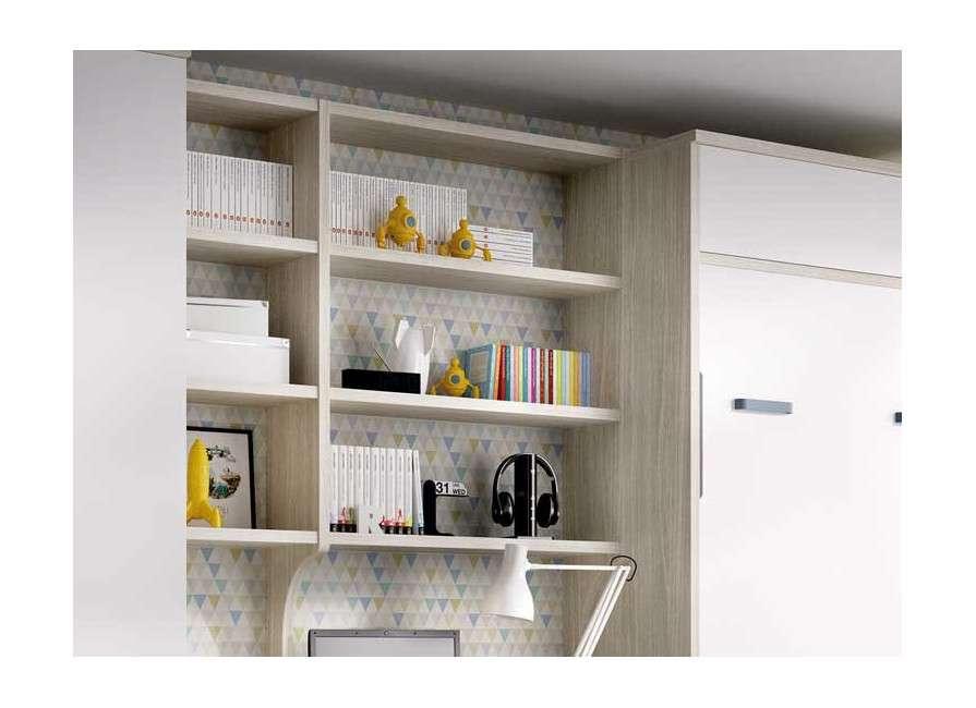 Composició de mobles amb llit abatible vertical