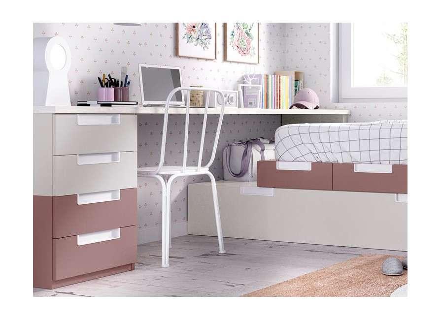 Habitació completa amb llit niu  modular