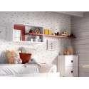 Conjunto de muebles juveniles con cama nido modular