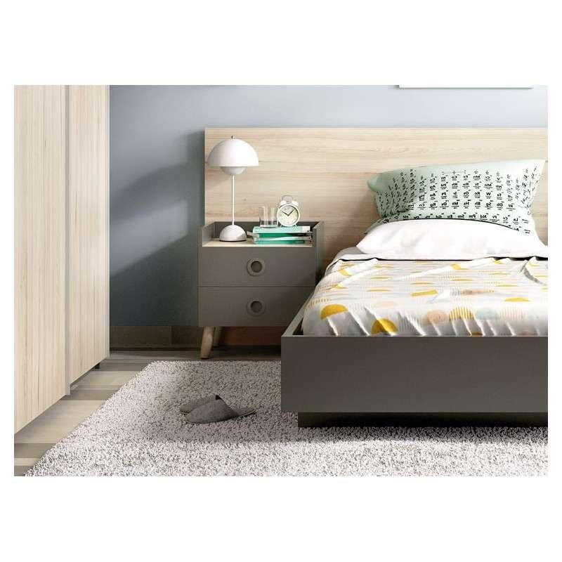 Habitación juvenil con cama individual