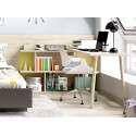 Habitació juvenil amb llit niu modular