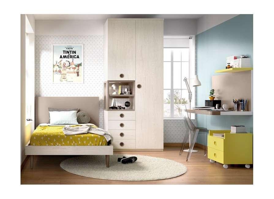 Composición completa para habitación juvenil