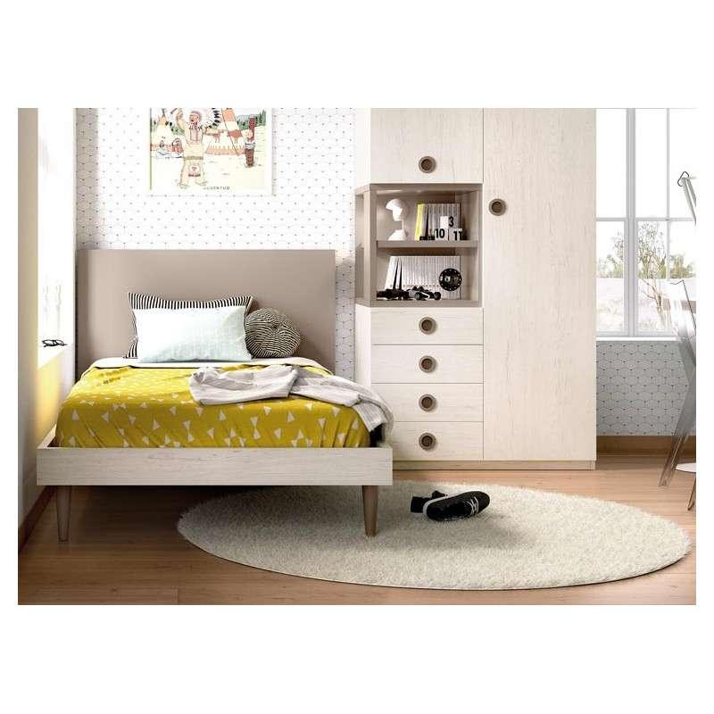 Composició modular per a habitació juvenil