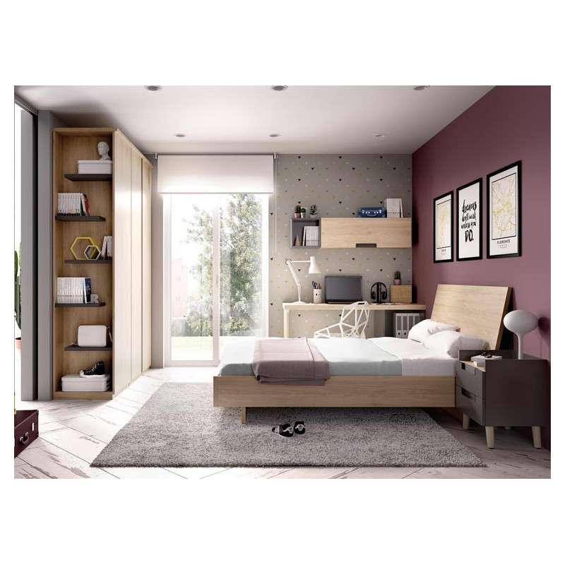 Dormitori juvenil amb escriptori