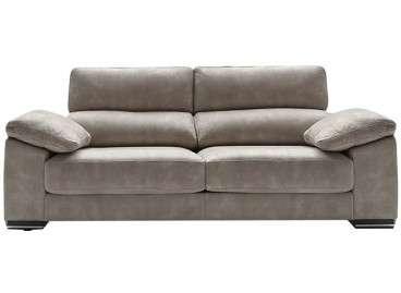 Sofá de tres plazas, con dos asientos, Maquinista