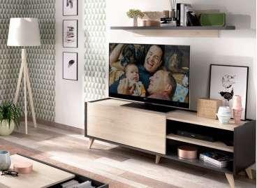 Mueble bajo para TV con patas Bremen