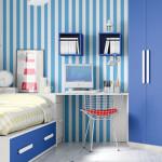 Muebles: Decorar con colores: azul