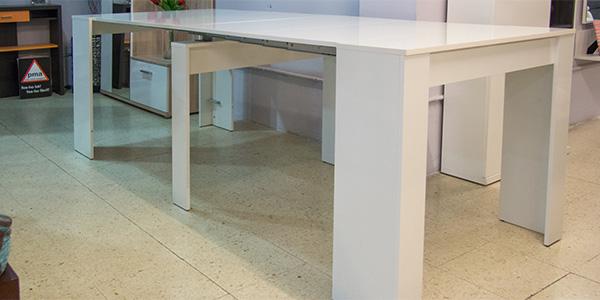 Mesa barata extensible en oferta de Mobiprix