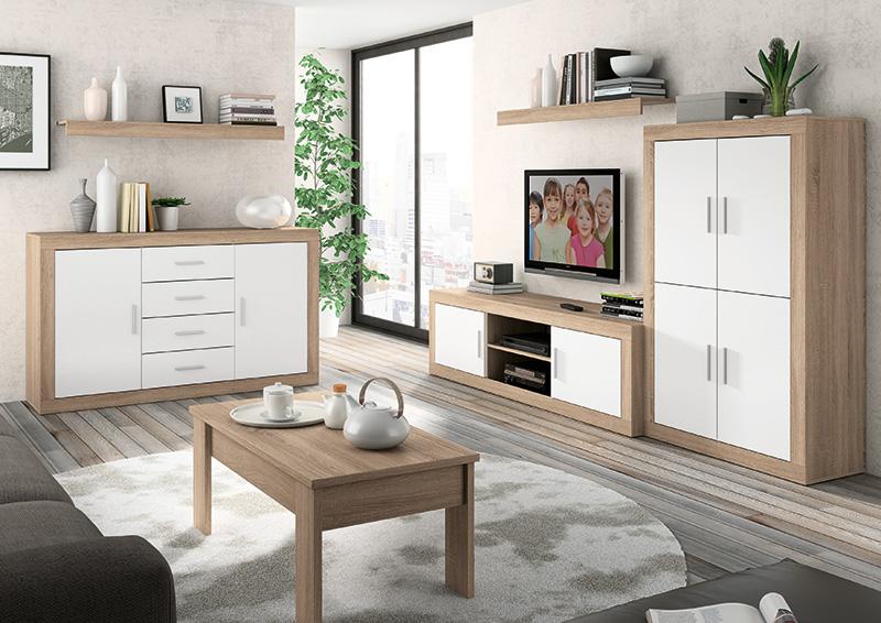 Muebles quieres hacer m s grande tu sal n muebles - Ideas para decorar un salon pequeno ...