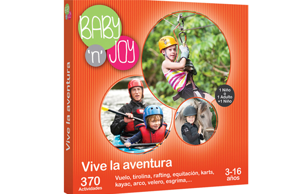 Kit de aventura para familias