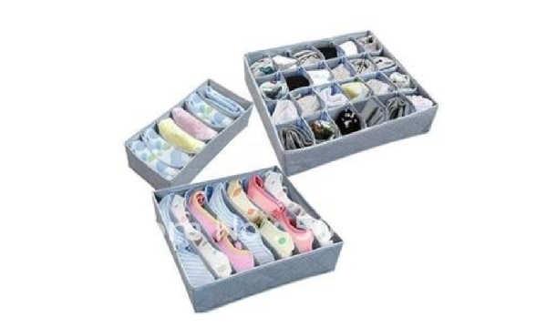 Cajas de Aliexpress para ordenar tu armario