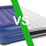 Colchones: ¿Colchón hinchable o colchón normal para los invitados?