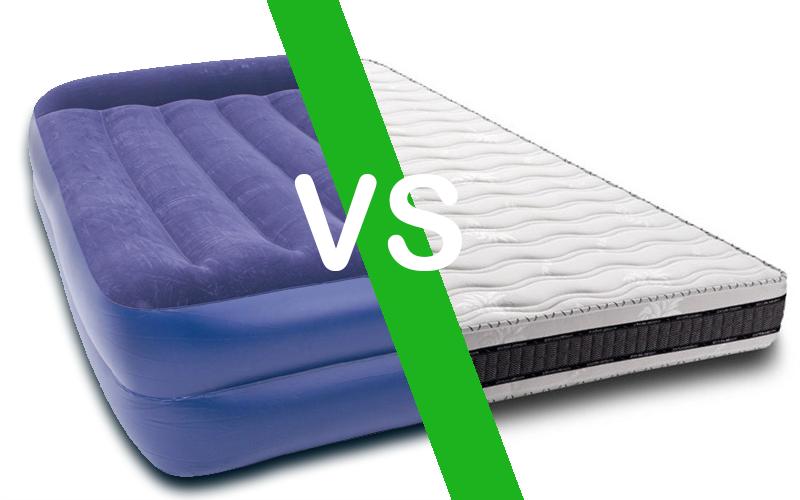 Colchones: ¿Colchón hinchable o colchón normal para los invitados ...