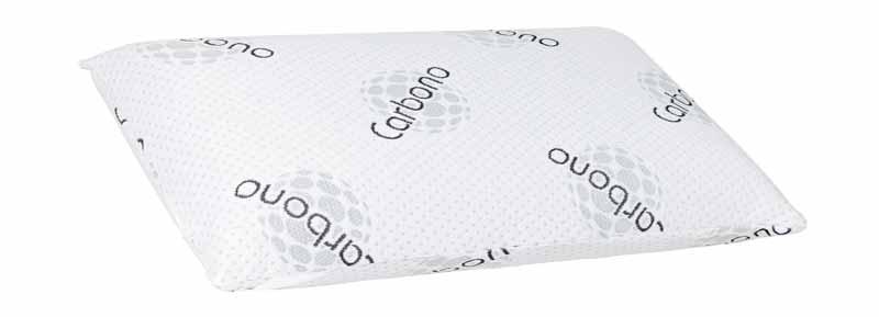 Almohada de carbono para conseguir una temperatura ideal durante el sueño