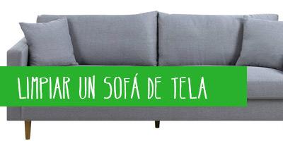 C mo limpiar un sof de tela y piel actualizado en 2019 - Como limpiar muebles ...