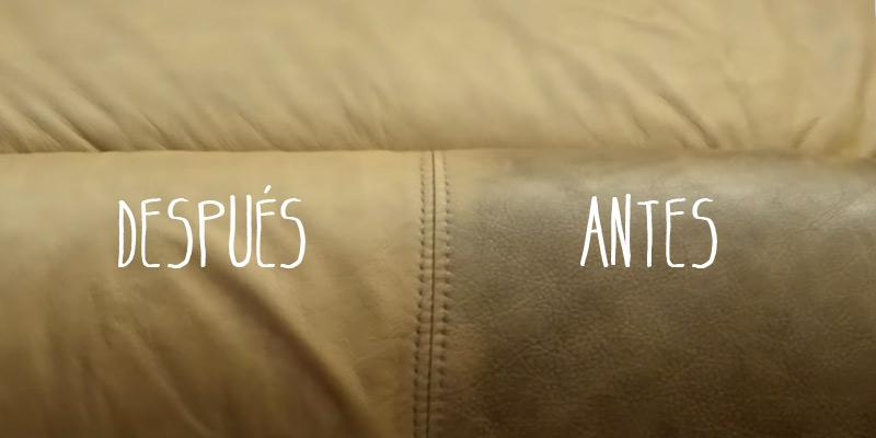 como limpiar un sofa de piel nivea