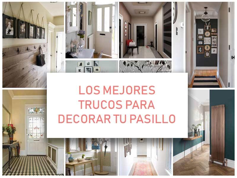 Trucos para decoraci n de pasillos 2018 actualizado en - Decoracion de paredes de pasillos ...