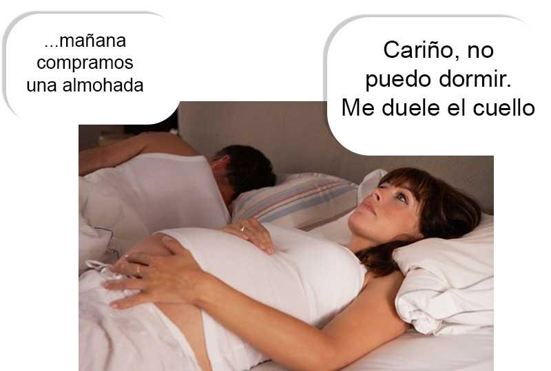 almohadas para dormir en el embarazo