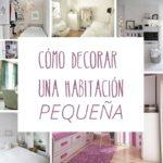 Cómo decorar una habitación pequeña (y que no lo parezca)