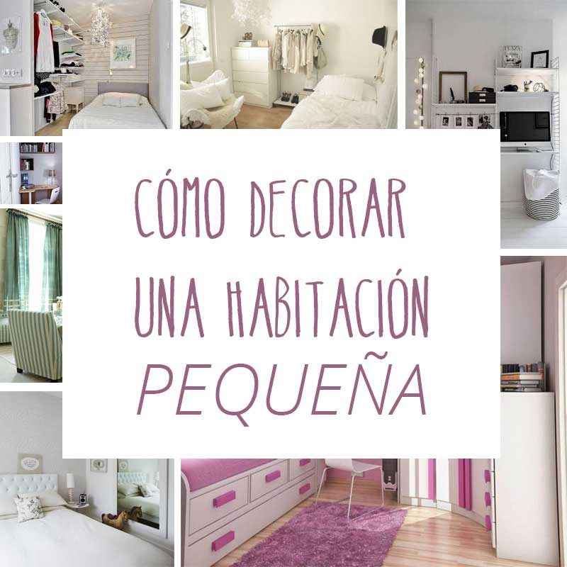 C mo decorar una habitaci n peque a trucos para abril de for Ideas para decorar un cuarto de pareja
