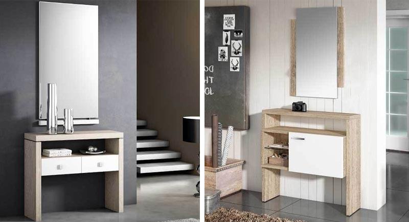 Si tienes el espacio suficiente es buena idea poner un mueble de recibidor que tenga personalidad. Recuerda que la decoraci'on de tu recibdor debe surgir alrededor del mueble que uses en 'el.