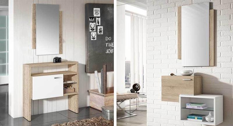 A la hora de decorar tu recibidor puedes escoger muchos tipos de mobiliario diferente.
