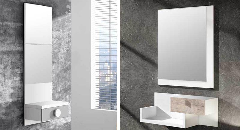 Un mueble elegante y con estilo propio es ideal para decorar con gusto tu recibidor. El el punto de partida perfecto para centrar todo el contenido estetico.