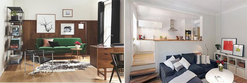 decorar un piso pequeño moderno