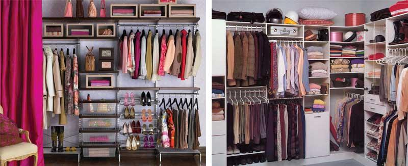 La organización de armarios por colores, por combinaciones o mezclando métodos es una de las mejores opciones.