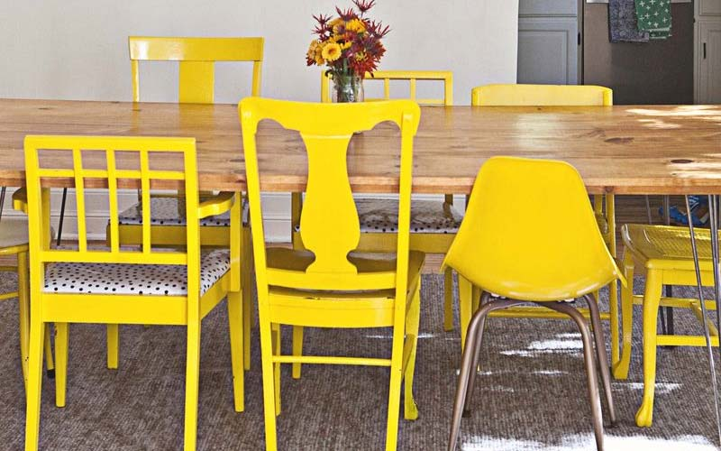 sillas para comedor diferentes