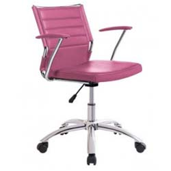 silla de estuido juvenil rosa