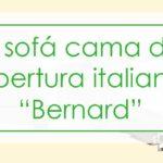 El sofá cama con apertura italiana «Bernard»