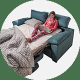 Sofàs llit i clic clacs