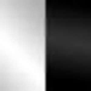 Blanco brillo/Negro brillo
