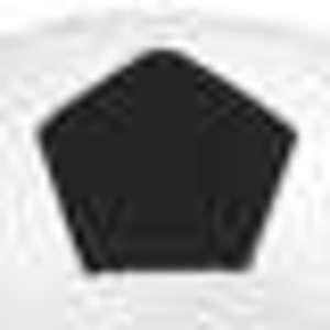 Puff blanco y negro